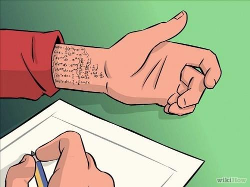 روش تقلب درامتحان