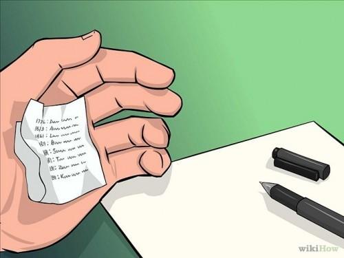 روش تقلب در امتحان